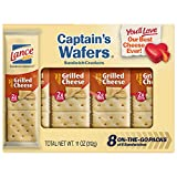 Lance Captain's Wafers Crackers Grilled Cheese - 3 Boxes of 8 Individual Packs