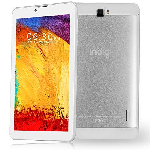 Indigi 2-in-1 Phablet 7.0in 4G LTE Smartphone Android 9.0 Tablet PC ATT TMobile Straightalk GSM Unlocked, White