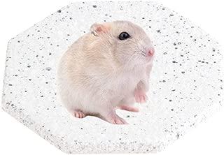 ハムスターと他の小動物のための花こう岩の大理石の石造りの陶磁器の冷却マット、2個セット (グレー)