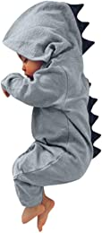 WSLCN Barboteuse Capuche Pyjama Grenouillères Comb