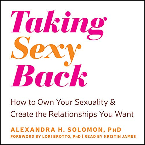 Taking Sexy Back audiobook cover art