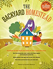 Following the author's suggestions, you can harvest your own fruits and vegetables, nuts, eggs, even grain and meat, all a few feet from your back door Also includes instructions on milling grains for flour, making your own cheese and cooking, cannin...