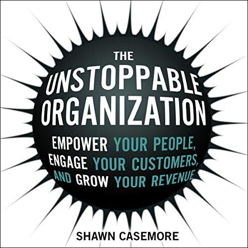 The Unstoppable Organization audiobook cover art