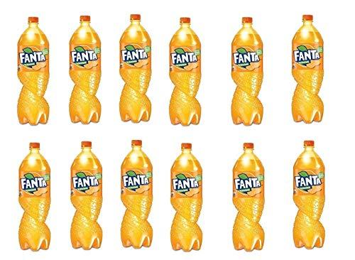 12x Fanta Orange Orangenlimonade flasche 1,5 L PET 100% italienische Orangen