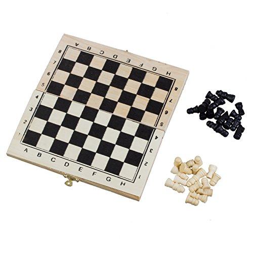 Faltbares Holz Schach Brett