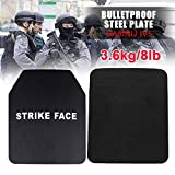ELUCHANG 1PCS 6.5mm Tactical Dummy Training SAPI Plate Carrier Body Vest Dummy Armor Bulletproof Plates for Chest Back Protector