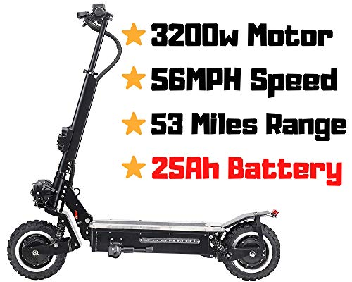 OUTSTORM MAXX 60MPH Ultra High Speed Electric Scooter for Adults Foldable, 5000W Power Dual Motor|...