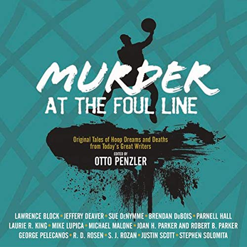 Murder at the Foul Line audiobook cover art