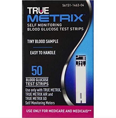 67R3H01650BX - Trividia Health, Inc TRUEMetrix Test Strip Health Network Use Only (50 count)
