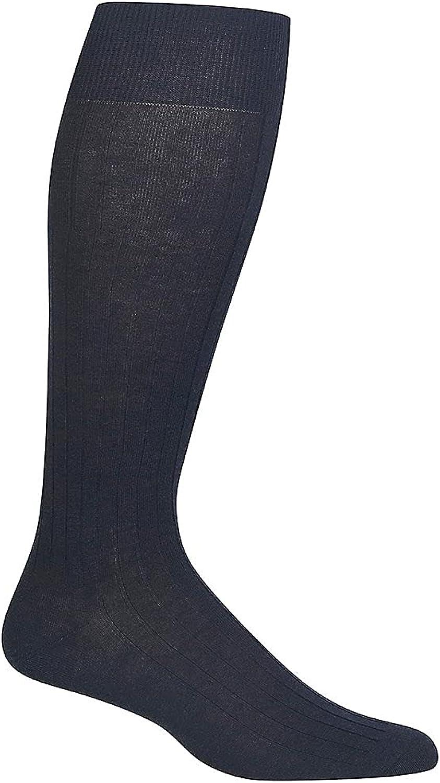 Polo Ralph Lauren Solid Rib Pima Over The Calf Dress Sock (8001)