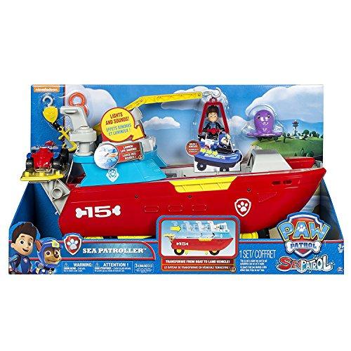 PAW PATROL Juguete de la Patrulla Canina 6037846«Patrullador marítimo»