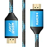 4k HDMI Cable 6 Foot 2 Pack hdmi 2.0 high-Speed Cables Ultra HDR 1080p 18Gbps 2.0b hdmi to hdmi