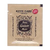Koyo Cabe Chilli Brand Porous Capsicum Plaster, Standard Size by CHILLI