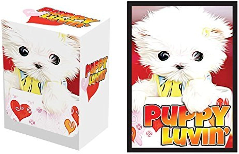100 Puppy Luvin' Protectors & Deck Box Combo Set Legion Supplies Matte Series Sleeves 2-Packs - Standard Magic the Gathering Größe by Legion Supplies B01CRQEDFM Gewinnen Sie das Lob der Kunden | Zart