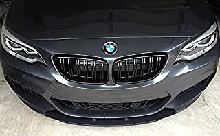 M2 Style Matte Black Kidney Euro Front Sport Hood Grill For BMW 2 Series F22 F23 F87 2014-
