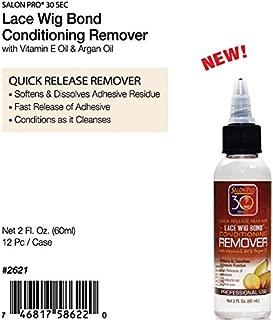 Salon Pro 30 Sec LACE WIG BOND CONDITIONING REMOVER with Vit. E Oil & Argan Oil (2 oz.)