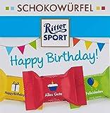 Ritter SPORT Ritter Sport Schokowürfel Happy Birthday