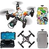 GACYSMD Drone con la cámara para niños 8-12 con 720p HD FPV cámara de Control Remoto Toys Regalos para niños niñas...