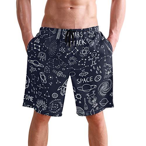 WTZYXS Summer Fruit Watermeloen, sneldrogend zwembord-shorts, zomerbroek, voor dames, voor jongens en meisjes