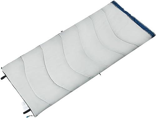 GYL SHUIDAI LWFB Enveloppe sac de couchage épissable épaississement Camping en plein air randonnée coton sac de couchage rectangulaire avec sac de compression (2 couleurs disponibles) (190  84cm)