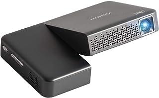 iOCHOW iO2S ミニ プロジェクター 小型 DLP 2000 ルーメン 1080PフルHD対応 1280*720解像度 自動台形補正 パソコン/スマホ/タブレット/ゲーム機/DVDプレイヤーなど接続可能HDMI/AUDIOサポート 充電...