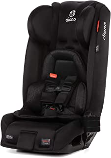 Diono 2020 Radian 3RXT, 4-in-1 Convertible, Extended Rear Facing, 10 Years 1 Car Seat, Fits 3 Across, Slim Fit Design, Bla...
