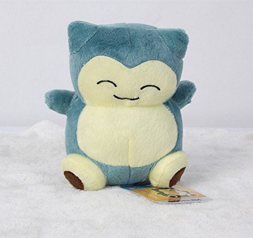 Cute Pokemon Snorlax Plush Stuffed Doll Toy 6 Inch Xmas Gift For Kids by giftheavenny