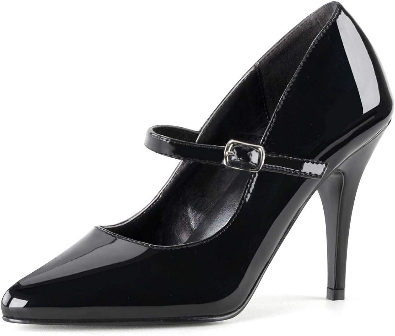 Higher-Heels PleaserUSA Damen Pumps Vanity-440 Abendschuhe Ausgehschuhe Tanz Gala Elegant
