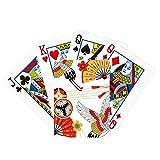 Grúa plegable ventilador Sakura patrón de póquer...