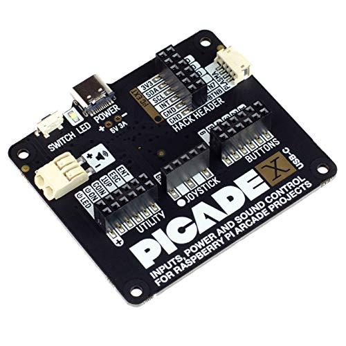 Picade X HAT USB-C - Verwandeln Sie Ihren Raspberry Pi in eine Retro-Spielekonsole!