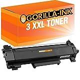 Toner Gorilla-Ink 3x compatibile per Brother TN-2420 MFC-L 2710 DN MFC-L 2710 DW MFC-L 2712 DN MFC-L 2712 DW MFC-L 2730 DW