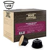Note D'Espresso Cápsulas de Ciruela y Canela - 48 x 3 g, Total: 144 g