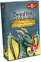 Bioviva Juego Cartas Desafios de la Naturaleza Criaturas Legendarias-Español
