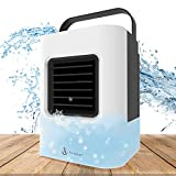 Portable Air Conditioner, Portable Cooler, Anbber Quick & Easy Way to Cool personal Space, As Seen On TV, Suitable for Bedside, Office and Study Room. Three Wind Level Adjustment