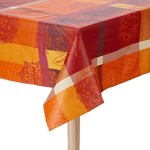Nydel Aviana Tafelkleed met Acryl Coating en Kaneel 160 x 160 cm Vierkant