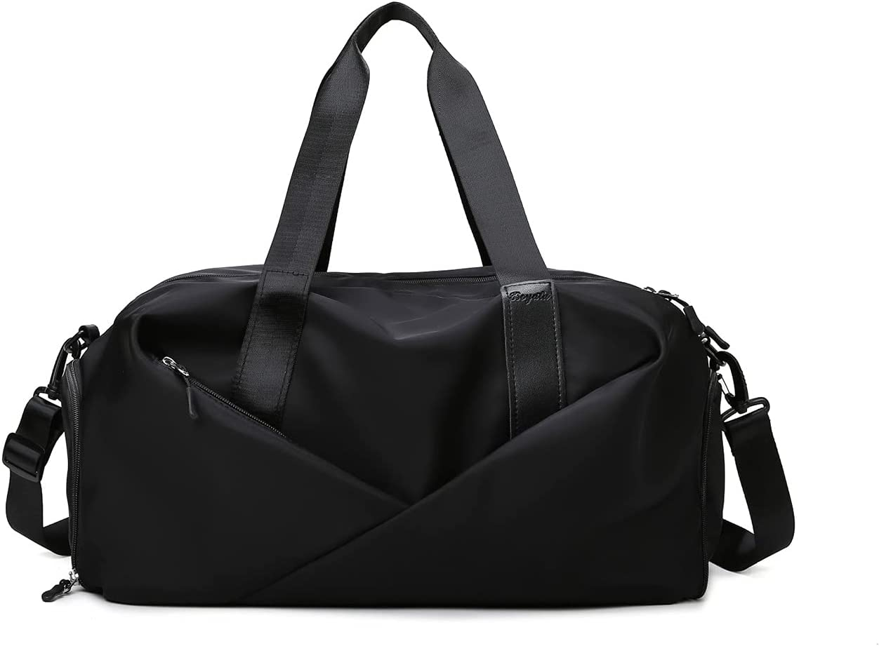 NCONCO Sports Gym Bag Don't miss the campaign Duffle Travel with Pocket Shoes Co Austin Mall Wet