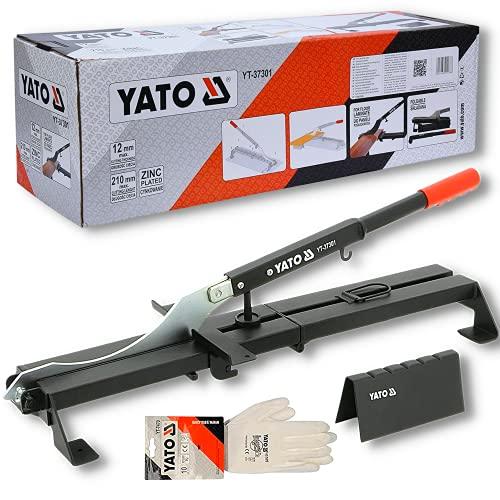 Taglierina per laminato professionale YATO | ghigliottina per il taglio di pavimenti in...