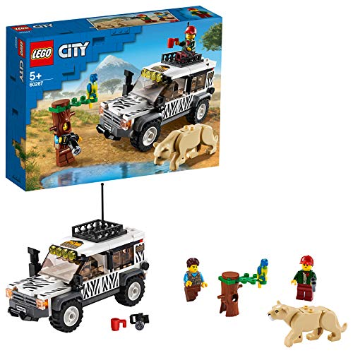 LEGO City Great Vehicles Safari Off-Roader 60267 Building Set