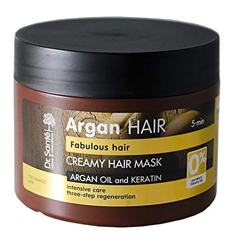 Dr.Sante Natural Mask with Argan Keratin for Damaged Hair 300ml