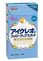 アイクレオ フォローアップミルク スティックタイプ 13.6g×10P ×5セット