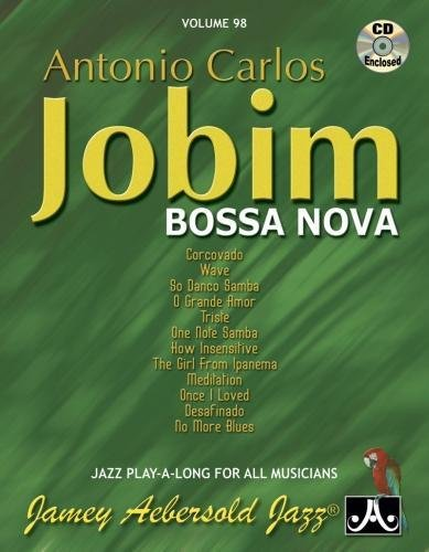 Aebersold 98 Carlos Jobim BOSSA NOVA + CD