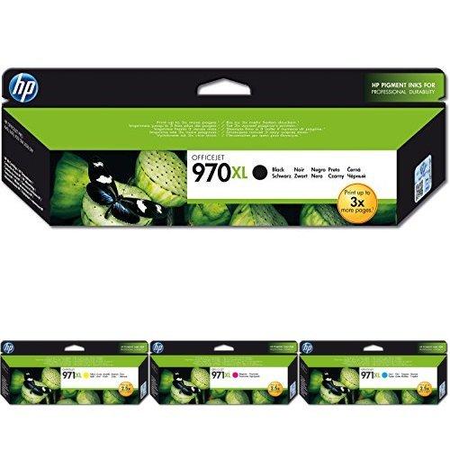 HP 970XL CMYK Original Druckerpatrone mit hoher Reichweite für HP Officejet Pro
