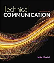 Technical Communication 11th edition by Markel, Mike (2014) Paperback