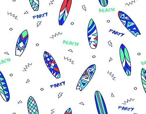 DIY Kits de Pintura de Diamante 5D para Niños y Adultos,tablas de surf, seamless, patrón, dibujo, lindo, repetir, niños,Arte de la Imagen para la Decor de la Pared del Hogar Regalo,20' x 16'