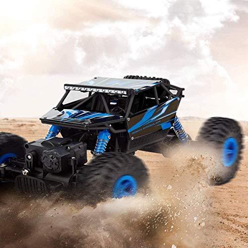 Rishx-toy Elektrische Fernbedienung Auto Geländewagen LKW Fahrzeug 2.4Ghz 4WD Leistungsstarke 01.18 Racing Klettern Auto-drahtloser Kinderauto Hobby Spielzeug