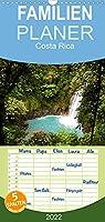 Costa Rica - Familienplaner hoch (Wandkalender 2022 , 21 cm x 45 cm, hoch): Traumstraende und Natur in Mittelamerika (Monatskalender, 14 Seiten )