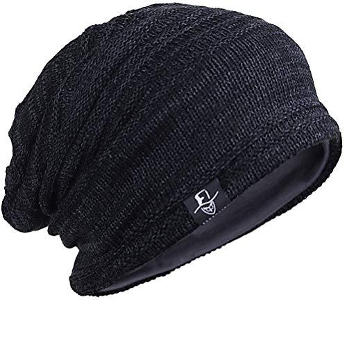 FORBUSITE Beany Mütze Herren und-Damen-Slouch-Beanie-Mütze-Winter