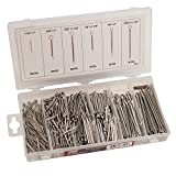 Hardware Machinery 68121 Stainless Cotter Pin Assortment (555 Piece)