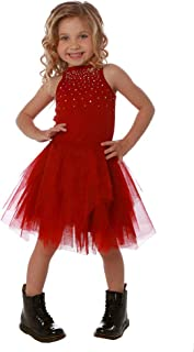 Ooh la la Couture Gorgeous Red Carrie Special Occasion Dress with Crystals on Bodice