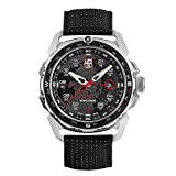 Luminox ICE SAR Arctic Mens Wrist Watch 46mm Stainless Steel Case Black Silver (XL.1201): 200 M Water Resistant + Sapphire Crystal + Bi-Directional Rotating Bezel